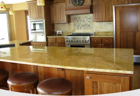 Granite Countertops Fabricated By Dakota Classique Rock in Pierre, SD