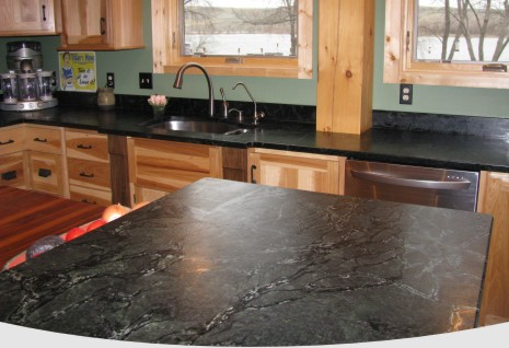 Soapstone Countertops Fabricated By Dakota Classique Rock in South Dakota