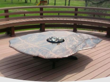 Merveilleux Boulder Fire Tables
